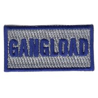 71 MDOS Gangload Gray Pencil Patch