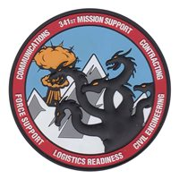 341 MSG Hydra PVC Patch