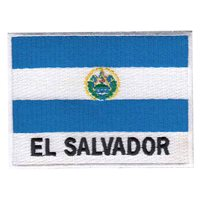 El Salvador Flag Patch