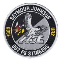 307 FS Stingers F-15E 1000 Hours Patch