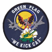 549 CTS Green Flag PVC Patch