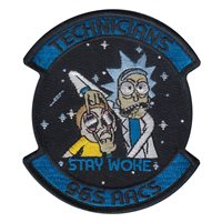 965 AACS Technicians Patch
