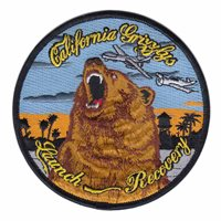 163 ATKW California Grizzlys Patch