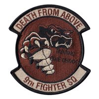 IQAF 9 FS Death from Above Desert Patch