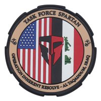 Task Force Spartan OIR PVC Patch