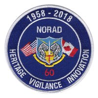 NORAD 60th Anniversary Patch
