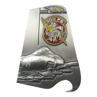 303 FS A-10 Tail Flash Bottle Opener Challenge Coin