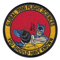 Bombardier Global 7000 Flight Sciences Patch