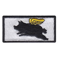 21 AS Flying Pig Pencil Patch