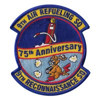 9 ARS 75th Anniversary Patch