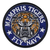 NROTC Det 785 University of Memphis Fly Navy Patch
