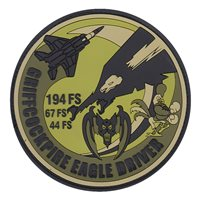 194 FS Red Flag OCP PVC Patch