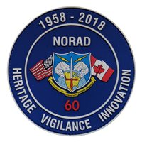 NORAD 60th Anniversary PVC Patch