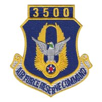 AFRC 3500 Hours Patch