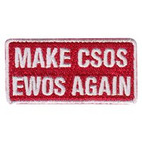 451 FTS COS Make CSOS EWOS Again Pencil Patch