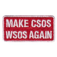 451 FTS COS Make CSOS WSOS Again Pencil Patch