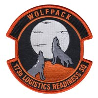 173 LRS Wolfpack Patch