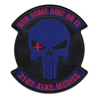 214 ATKG Medics Patch