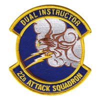 22 ATKS Dual Instructor Patch