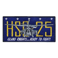 HSC-25 Rectangle Bullet Patch