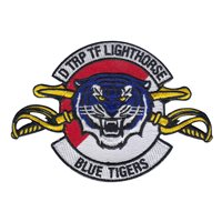 D Troop 3-17 CAV TF Lighthorse Patch