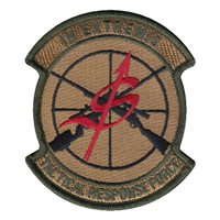 341 SSPTS Tactical Response Force Patch