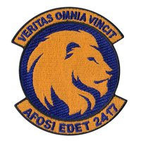 AFOSI EDET 2417 Patch