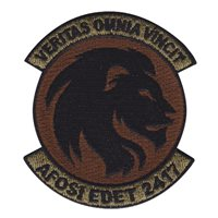 AFOSI EDET 2417 OCP Patch