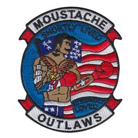 HSC-23 Moustache Outlaw Patch