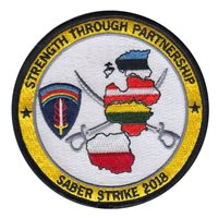 NATO CAOC UEDEM Sabre Strike 2018 Patch