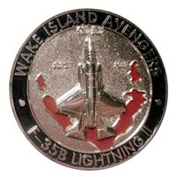 VMFA-211 Spinner Challenge Coin