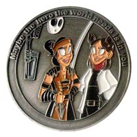 Heroes and Villains 2018 Challenge Coin