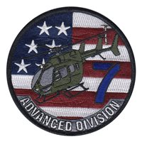 Fort Rucker Flight 7 Advanced Division Patch