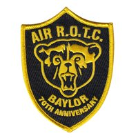 AFROTC Det 810 Baylor University 70th Anniversary Patch