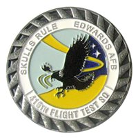416 FLTS F-16 Tail Flash Coin