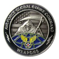 AFGSC Weapons Coin