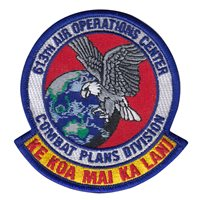 613 AOC Combat Plans Division Patch