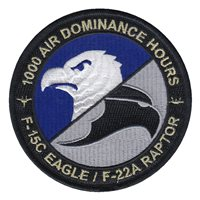 1000 Air Dominance Hours Patch