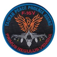 416 FLTS F-16V Taiwan Peace Phoenix Rising Patch