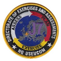 HQ USEUCOM J7 Exercises and Assessments Patch