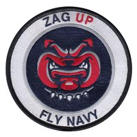 Naval Aviation Schools Command Zag Up Patch