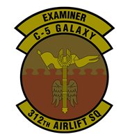 312 AS Examiner OCP Patch