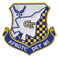 AFROTC Det 165 Georgia Institute of Technology Patch