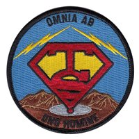 AFROTC Det 365 Massachusetts Institute of Technology Lincoln Laboratory TS Patch