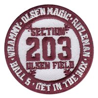 AFROTC Det 805 Texas A&M University Baseball Patch