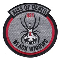 421 FS F-35 Kiss of Death Patch