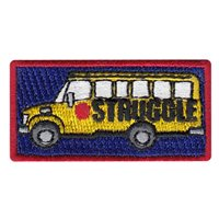 URT 18-08 Struggle Bus Pencil Patch