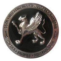 High Quality 55 ISS Custom Air Force Challenge Coin