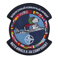 NATO AWACS E-3A Snoopy Patch