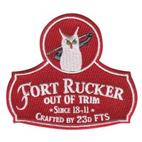 Ft. Rucker 18-11 Patch